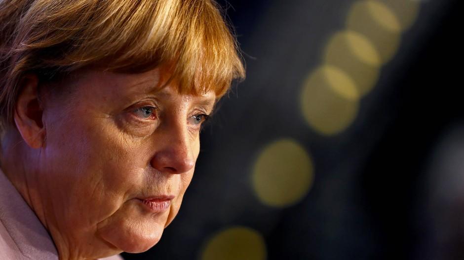 Bundeskanzlerin Angela Merkel beim CDU-Parteitag in Essen