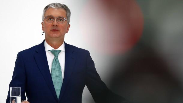 Der Audi-Chef wird beurlaubt