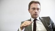 """""""Gegen jede Form von Generalisierung"""": der Bundesvorsitzende der FDP, Christian Lindner"""