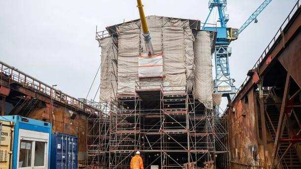 """""""Gorch Fock"""" kann auch Museumsschiff werden"""