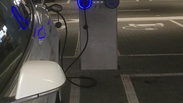 Hessen-Center wird zur E-Tankstelle