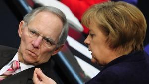 Merkel rechnet nicht mit baldiger Volksabstimmung