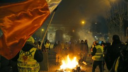 """Frankreich will bei Gewalt der """"Gelbwesten"""" härter durchgreifen"""