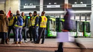Busfahrer wollen auch am Mittwoch streiken