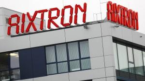 Eine ungewisse Zukunft lastet auf Aixtron