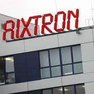 Der Unternehmenssitz des Spezialmaschinenbauers Aixtron bei Aachen