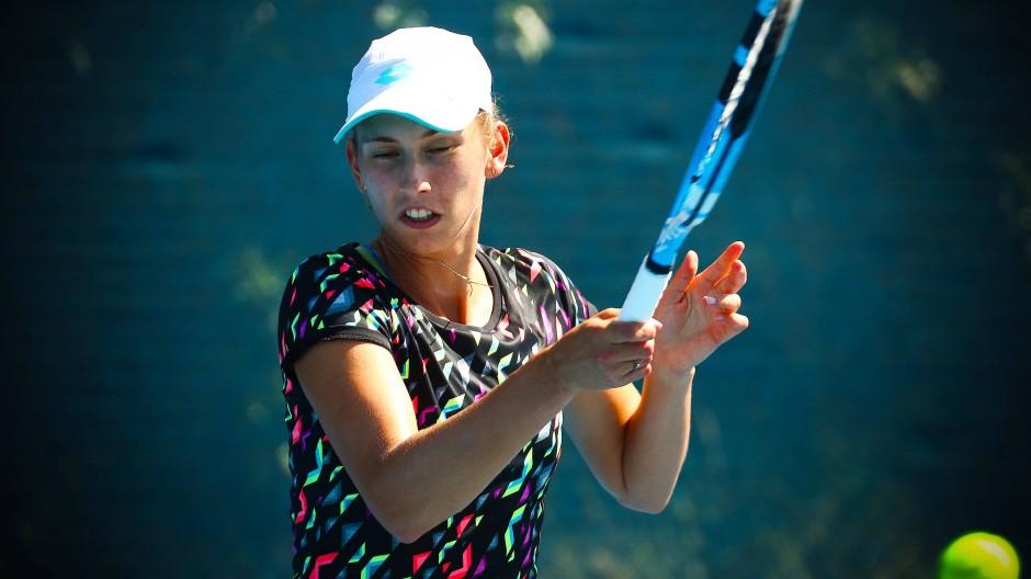 Die Belgierin Elise Mertens erreicht das Halbfinale.