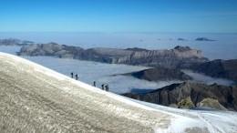 Gletscher des Mont Blanc tauen ab