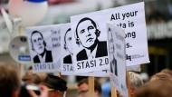 Protest ohne politische Resonanz