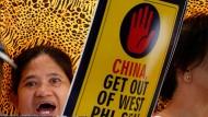 Proteste nach Zwischenfall im Südchinesischen Meer