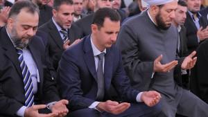 Assads Pyramide der Macht