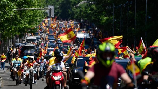 Proteste in ganz Spanien gegen Kurs der Linksregierung