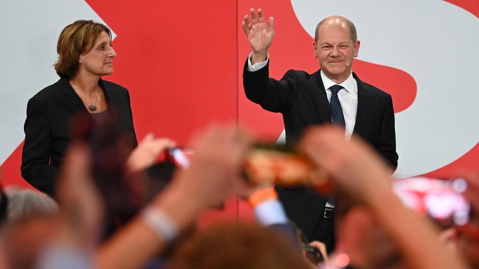 Will neuer Bundeskanzler werden: SPD-Kandidat Olaf Scholz.