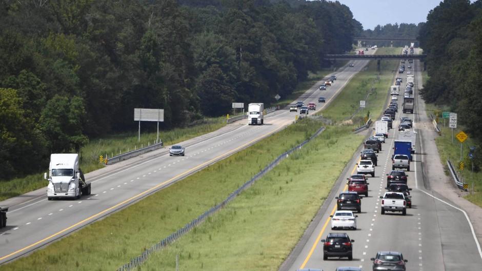 Die Interstate 55 führt von New Orleans über Memphis nach Chicago.