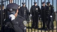 Große Anteilnahme bei Polizistenbeerdigung