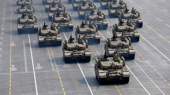 China lässt die Muskeln spielen