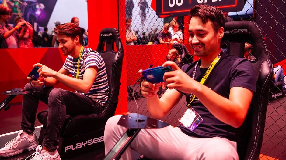 Besucher der Gamescom 2019 in Köln