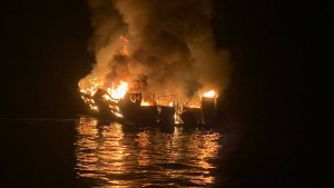 """""""Ich konnte sehen, wie die Flammen aus dem Schiff schlugen"""""""