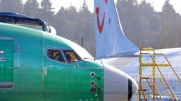 Produktion von Boeing 737 Max wird nicht eingestellt