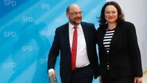 Schulz dachte doch über Rücktritt nach