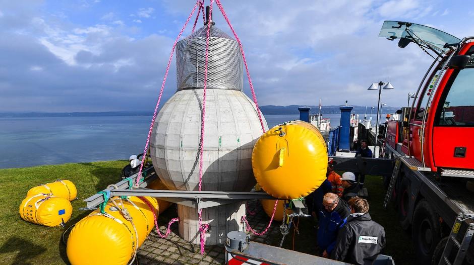 Modell für die Zukunft: Meeres-Pumpspeicherkraftwerk.