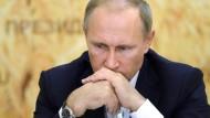 Was hat er als nächstes vor? Russlands Präsident Wladimir Putin