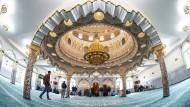 Prachtvoll: Die Abu-Bakr-Moschee gilt als die schönste in Frankfurt.