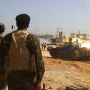 Kämpfer von General Haftar beim Angriff auf Tripolis: Mit seiner Unterstützung für den Rebellenführer gefährdet Donald Trump den UN-Friedensplan für Libyen.