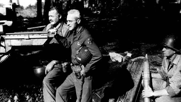 Hemingway im Hürtgenwald