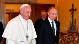 Was Putin mit dem Papst verbindet