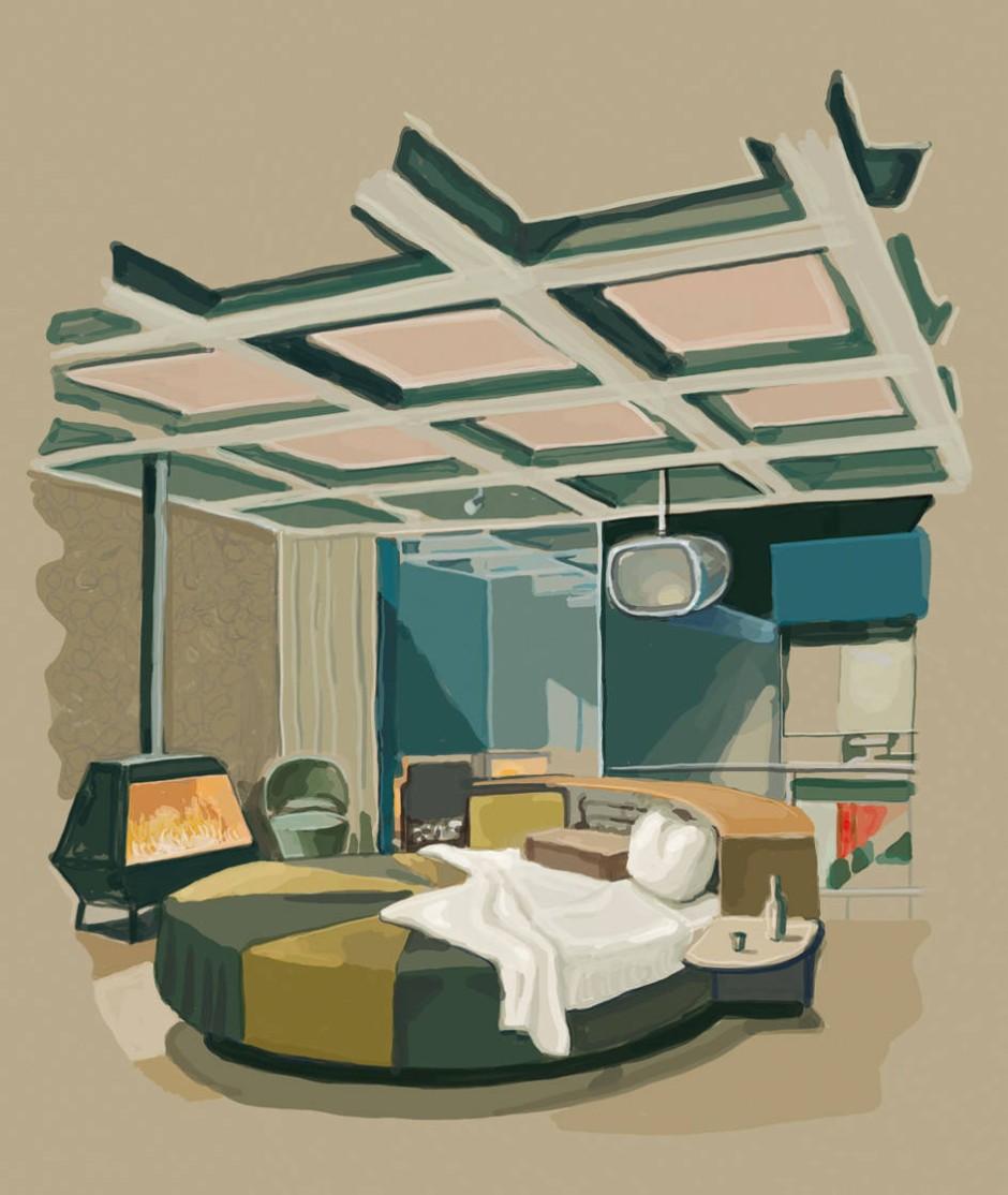 bilderstrecke zu architektur im playboy lass uns zu mir gehen bild 2 von 2 faz. Black Bedroom Furniture Sets. Home Design Ideas