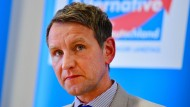 Björn Höcke ist auch bei den eigenen Parteianhängern umstritten.