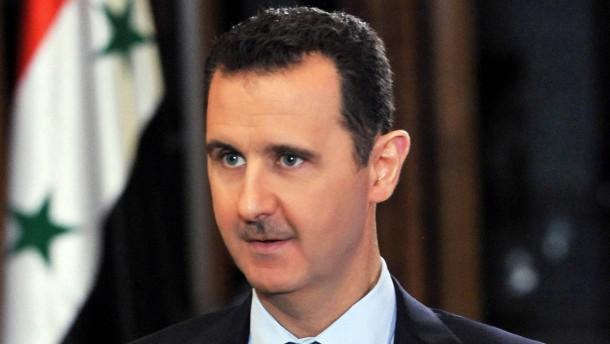 Assad will Milliarde für  Vernichtung der Chemiewaffen