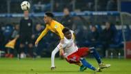 Das waren noch Zeiten: Beim Hinspiel in Hamburg siegten Mascarell und die Eintracht locker 3:0.