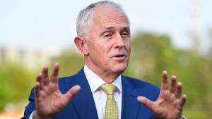 Turnbull sieht Handelsvertag als Fanal der Freiheit