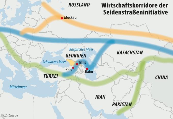 Georgien: Chinas Vorposten auf der neuen Seidenstraße