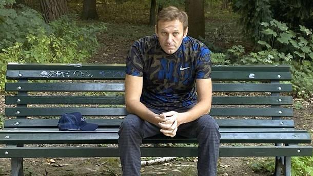Aleksej Nawalnyj erholt sich im Schwarzwald