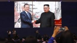 Kim Jong-un plant Besuch in Seoul