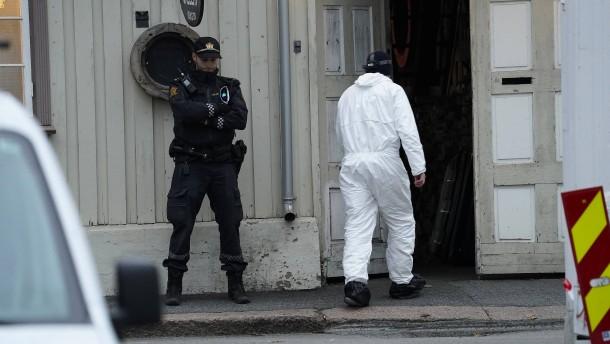 """Norwegischer Geheimdienst schließt """"Terrorakt"""" nicht aus"""