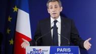 Herbe Niederlage für Nicolas Sarkozy