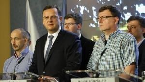 Ministerpräsident Nečas tritt zurück
