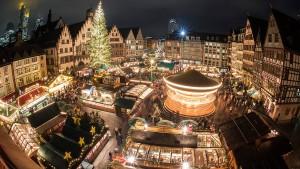 Frankfurt sagt Weihnachtsmarkt ab