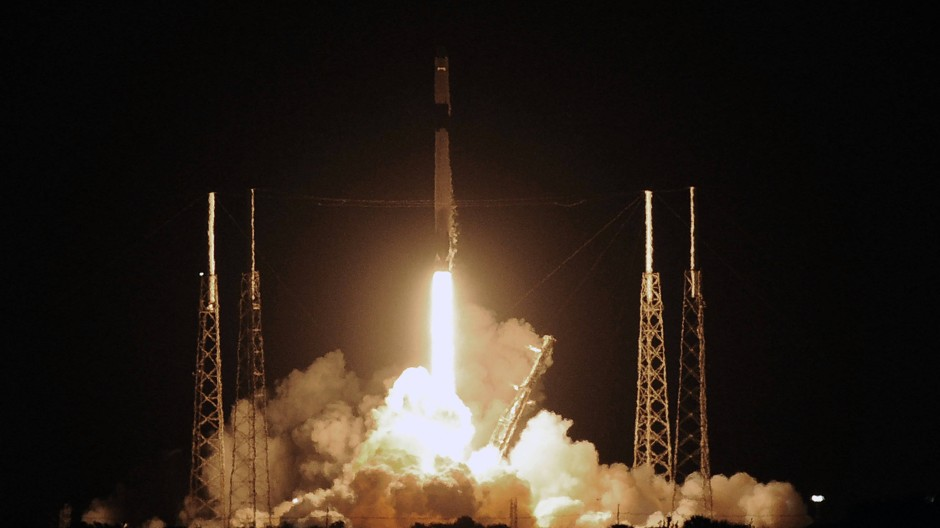 """SpaceX schickt Raumfähre """"Dragon"""" zur ISS"""
