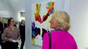 Shoppingtour mit Astrid Lilja auf der Art Cologne