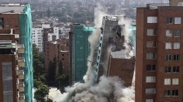 Sprengung wegen struktureller Schäden