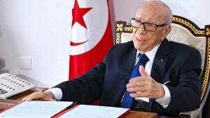 Tunesiens Präsident wiederholt ins Krankenhaus eingeliefert