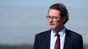 Verkehrsminister Scheuers neuer Maut-Ärger