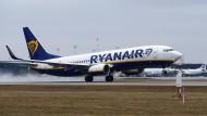 Ryanair ist unter den 10 größten CO2-Emittenten Europas.