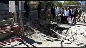 Raketenangriff auf Militärparade im Jemen