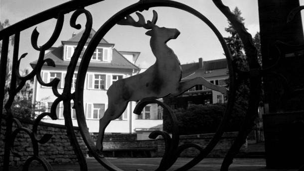 Uwe Tellkamp - Der deutsche Schriftsteller führt an die Orte der Handlung seines neuen Romans 'Der Turm' im Villenviertel Weißer Hirsch in Desden